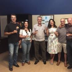 Degustação gratuita de vinhos chilenos